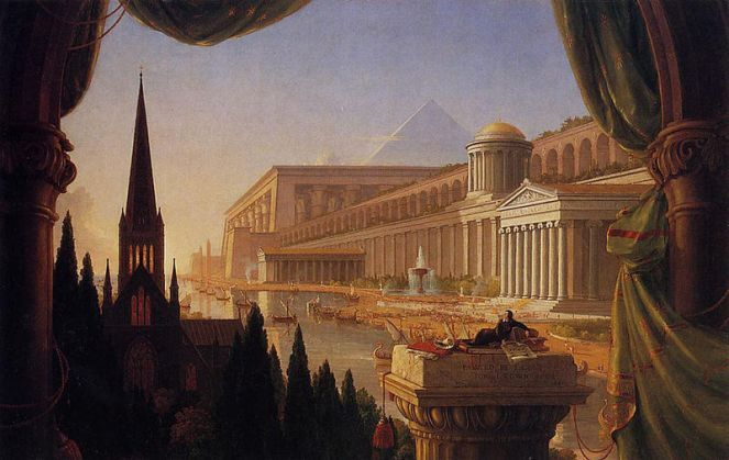 Cole_Thomas_The_Architect-s_Dream_1840