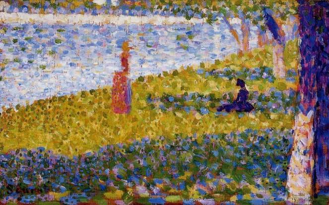 GEORGES_SEURAT_WOMEN_BY_WATER